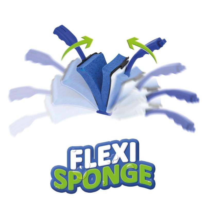 Éponge-raclette 2 en 1 FlexiSponge