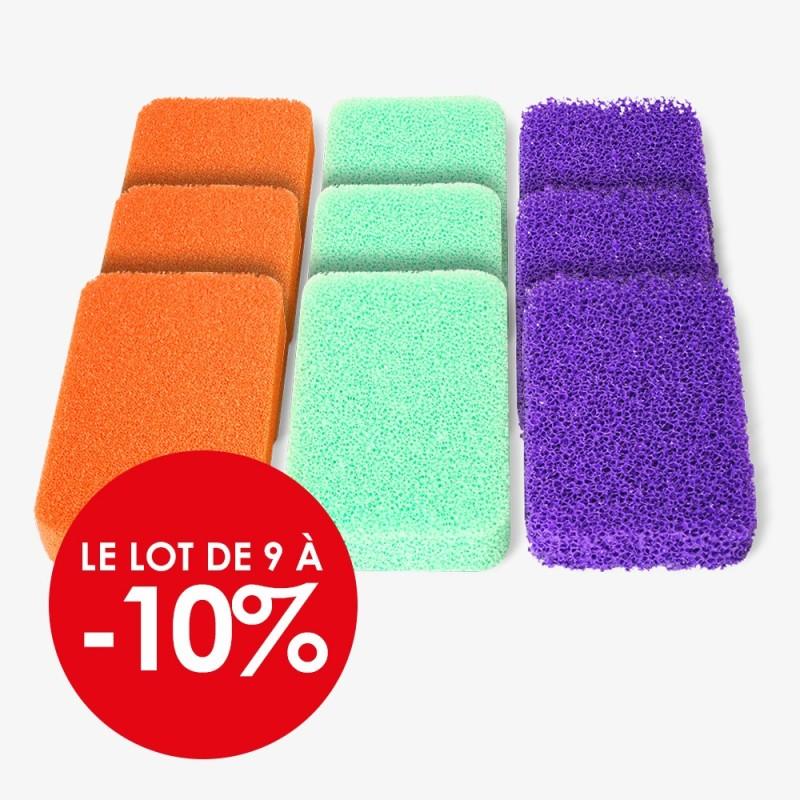 Éponges en mousse de silicone Silic'O Sponge Ultra